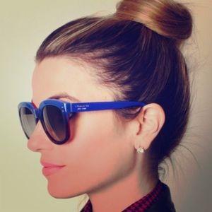 Coach Casey Blue Red Gradient sunglasses